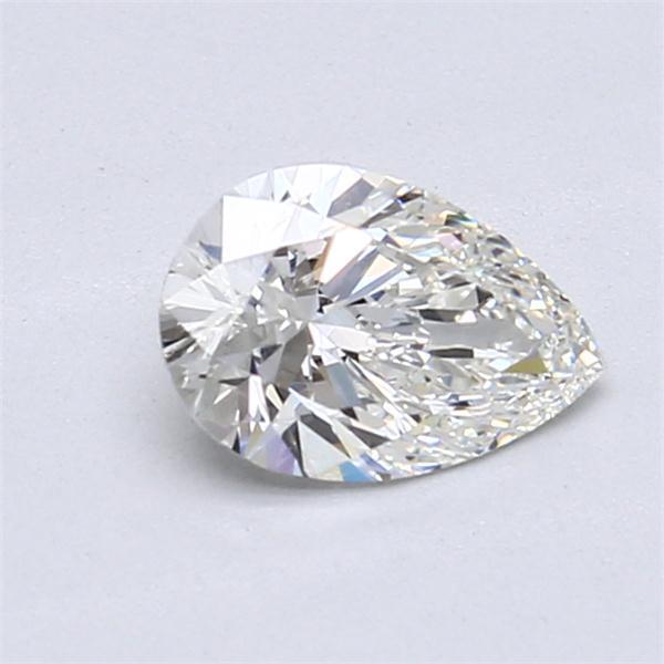 0.80 Carat Pear Loose Diamond, H, IF, Super Ideal, GIA Certified