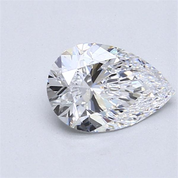 0.91 Carat Pear Loose Diamond, D, IF, Super Ideal, GIA Certified