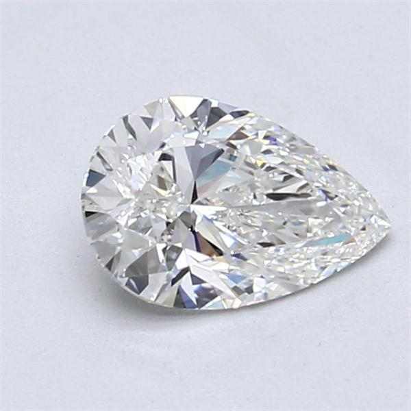 1.01 Carat Pear Loose Diamond, F, SI2, Super Ideal, GIA Certified | Thumbnail
