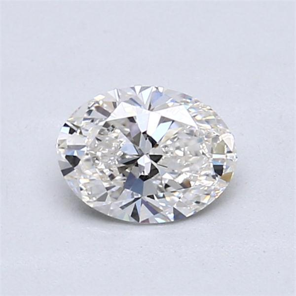 0.70 Carat Oval Loose Diamond, F, VS1, Super Ideal, GIA Certified | Thumbnail