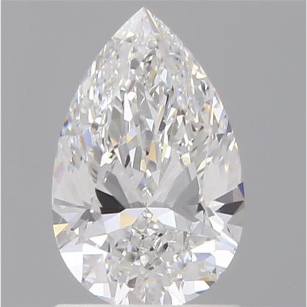 1.07 Carat Pear Loose Diamond, E, VVS1, Super Ideal, GIA Certified