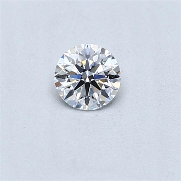 0.24 Carat Round Loose Diamond, D, VVS1, Super Ideal, GIA Certified