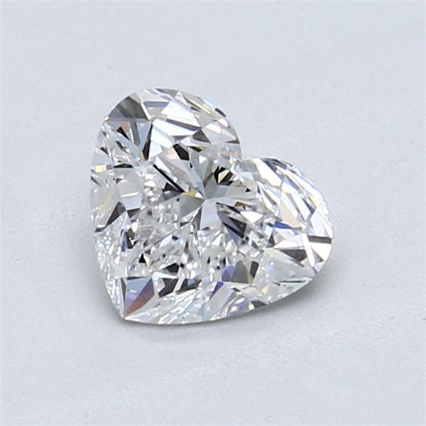 1.07 Carat Heart Loose Diamond, D, VS2, Super Ideal, GIA Certified