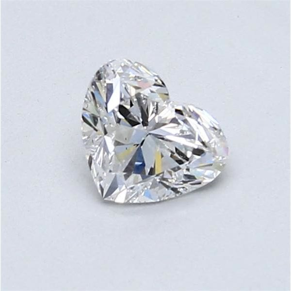 0.70 Carat Heart Loose Diamond, E, SI1, Super Ideal, GIA Certified