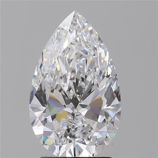 2.03 Carat Pear Loose Diamond, D, VS1, Super Ideal, GIA Certified | Thumbnail