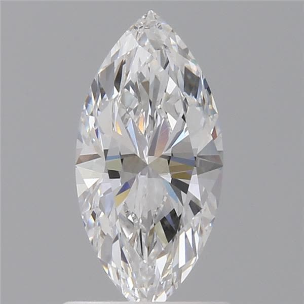 0.82 Carat Marquise Loose Diamond, D, IF, Ideal, GIA Certified