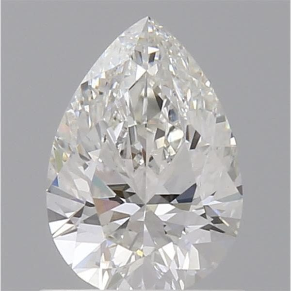 0.70 Carat Pear Loose Diamond, G, VS1, Super Ideal, GIA Certified