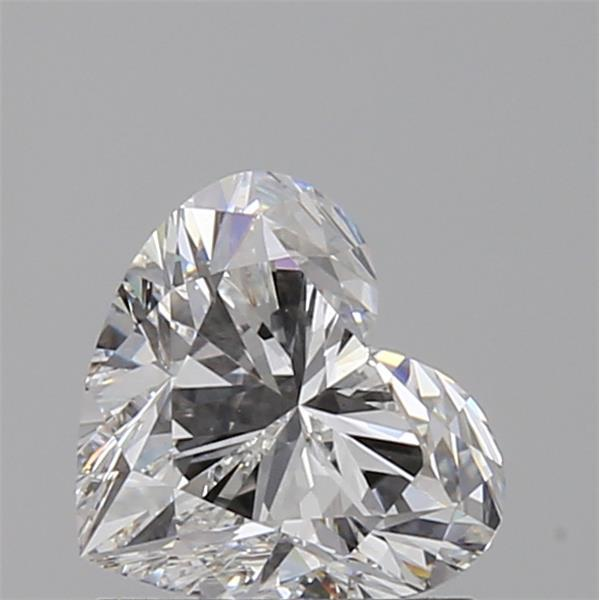 1.01 Carat Heart Loose Diamond, F, VS1, Super Ideal, GIA Certified