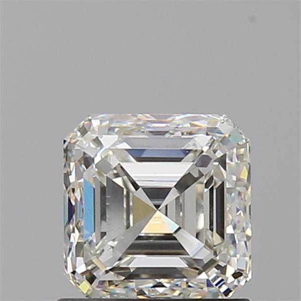 1.01 Carat Asscher Loose Diamond, J, VS1, Ideal, GIA Certified | Thumbnail