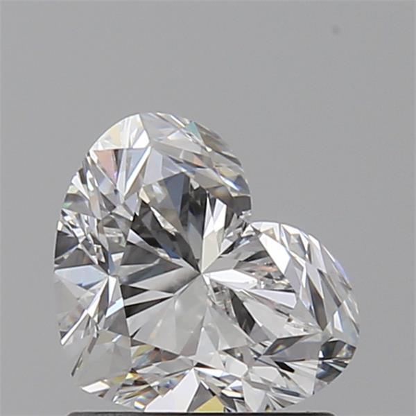 1.01 Carat Heart Loose Diamond, E, VVS1, Ideal, GIA Certified