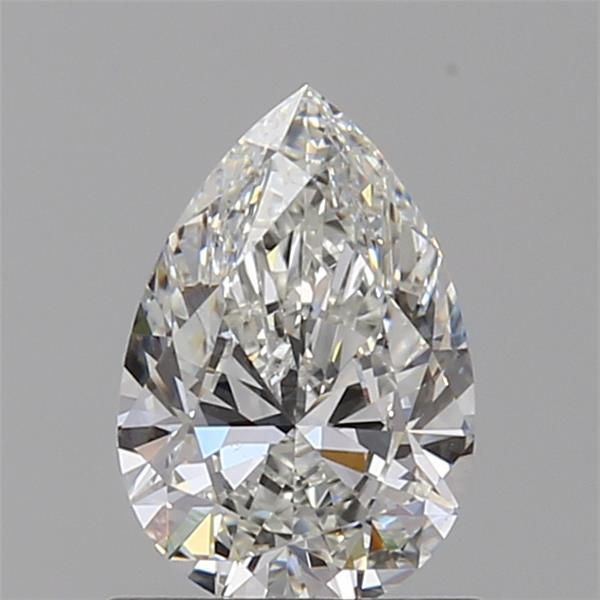 0.71 Carat Pear Loose Diamond, G, VVS2, Super Ideal, GIA Certified