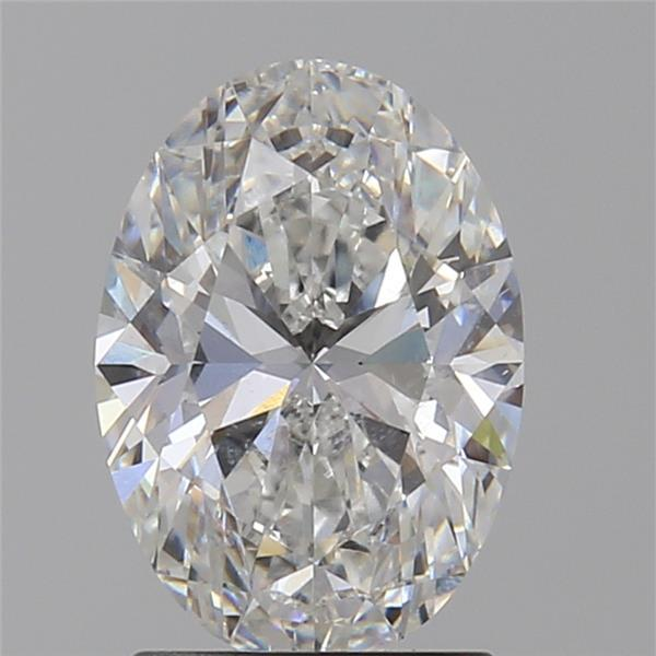 1.52 Carat Oval Loose Diamond, F, SI2, Super Ideal, GIA Certified | Thumbnail
