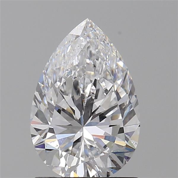 1.02 Carat Pear Loose Diamond, D, SI1, Ideal, GIA Certified