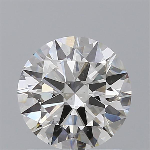 1.01 Carat Round Loose Diamond, H, SI1, Ideal, GIA Certified