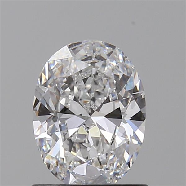 0.72 Carat Oval Loose Diamond, D, VVS1, Ideal, GIA Certified