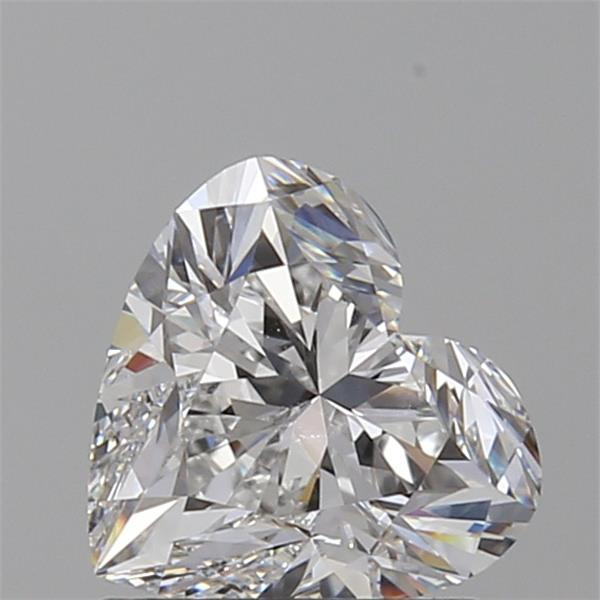 1.01 Carat Heart Loose Diamond, E, VVS2, Super Ideal, GIA Certified