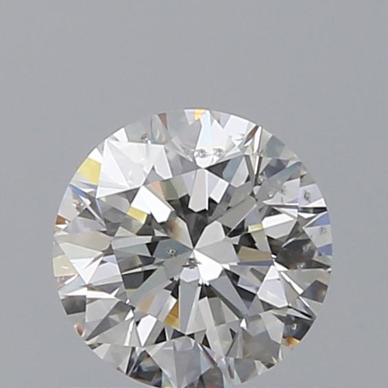 0.70 Carat Round Loose Diamond, G, SI2, Excellent, GIA Certified