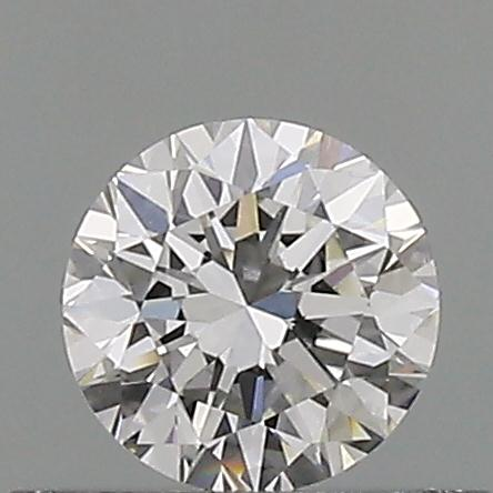 0.39 Carat Round Loose Diamond, I, VVS2, Very Good, GIA Certified