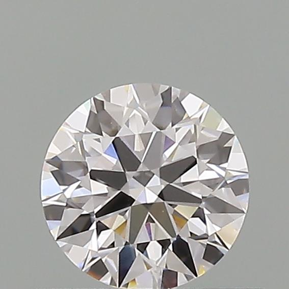 0.52 Carat Round Loose Diamond, D, VS1, Super Ideal, GIA Certified