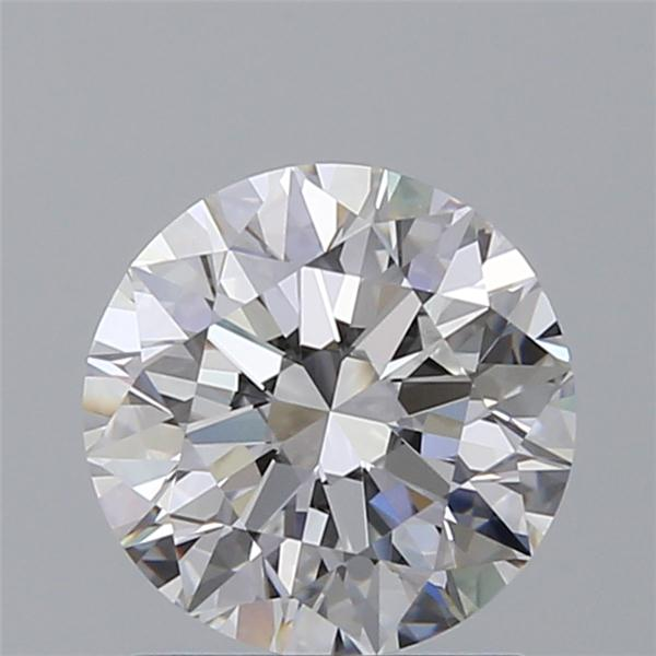 1.25 Carat Round Loose Diamond, D, VVS2, Super Ideal, GIA Certified
