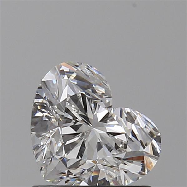 0.80 Carat Heart Loose Diamond, G, VS1, Super Ideal, GIA Certified | Thumbnail