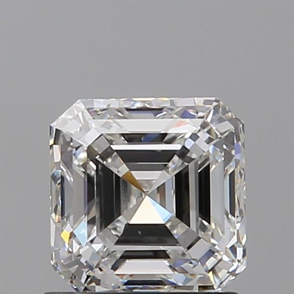 1.02 Carat Asscher Loose Diamond, G, VS1, Super Ideal, GIA Certified