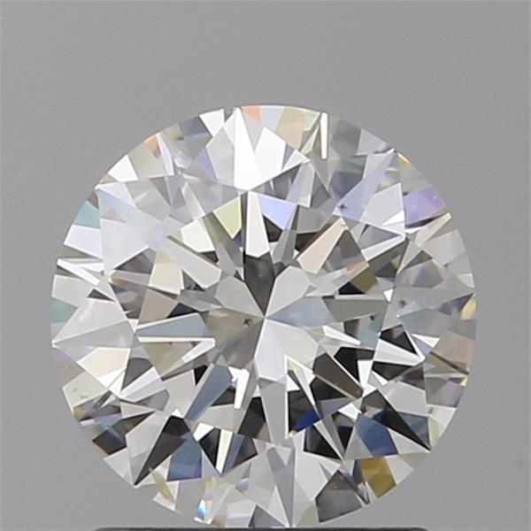 1.30 Carat Round Loose Diamond, I, SI1, Super Ideal, GIA Certified