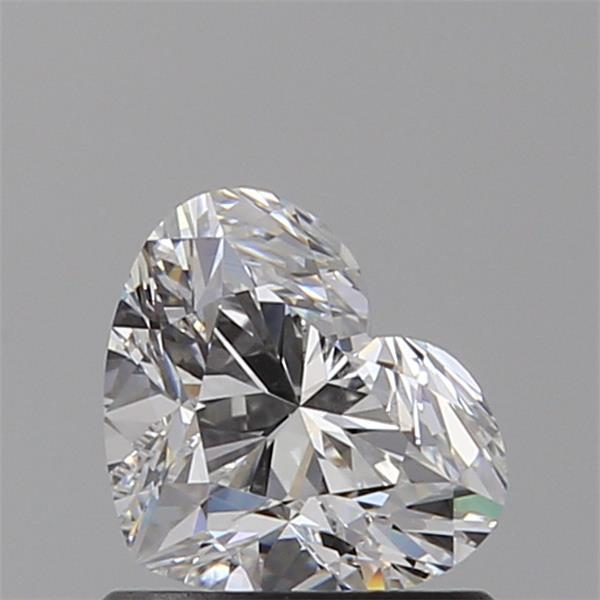 0.80 Carat Heart Loose Diamond, F, VS2, Super Ideal, GIA Certified
