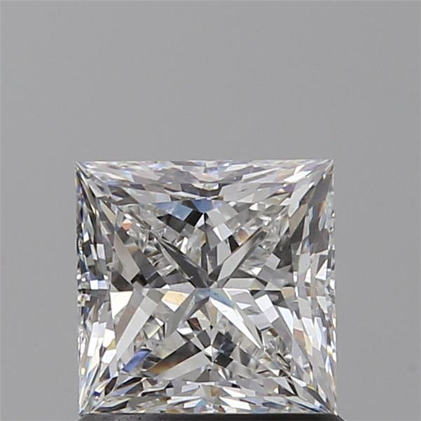 1.01 Carat Princess Loose Diamond, F, VS2, Super Ideal, GIA Certified