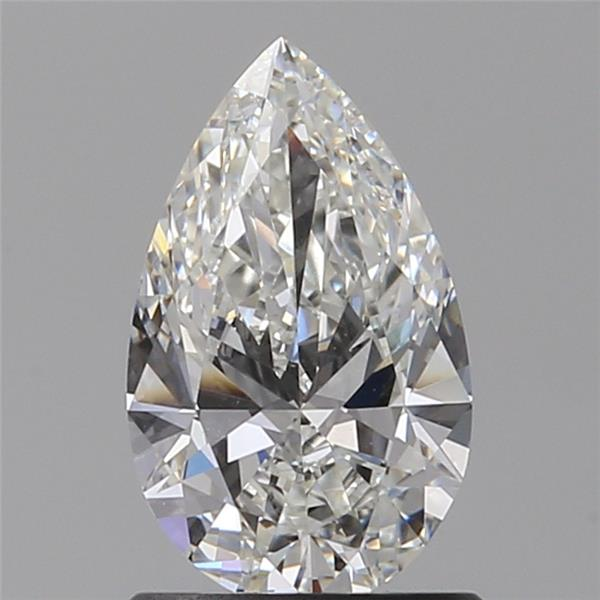 0.90 Carat Pear Loose Diamond, G, VVS1, Ideal, GIA Certified