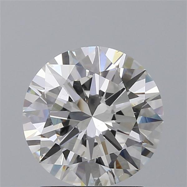 1.50 Carat Round Loose Diamond, H, SI2, Excellent, GIA Certified