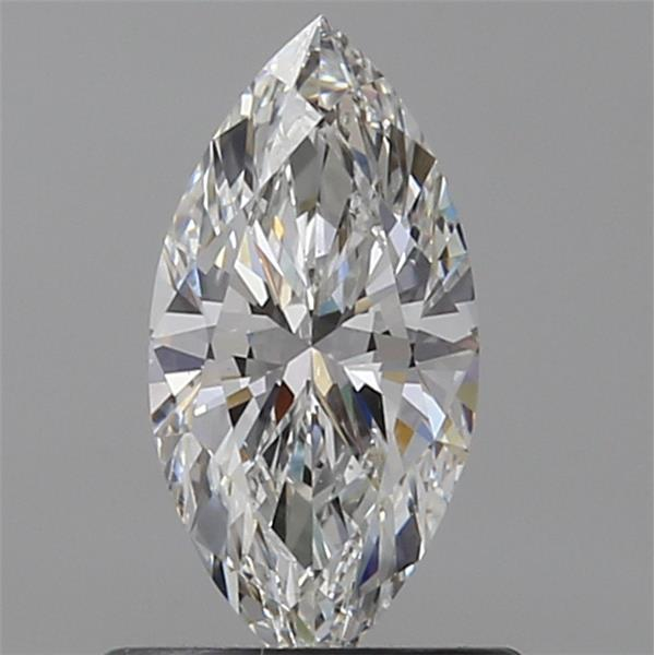 0.60 Carat Marquise Loose Diamond, G, VS2, Ideal, GIA Certified