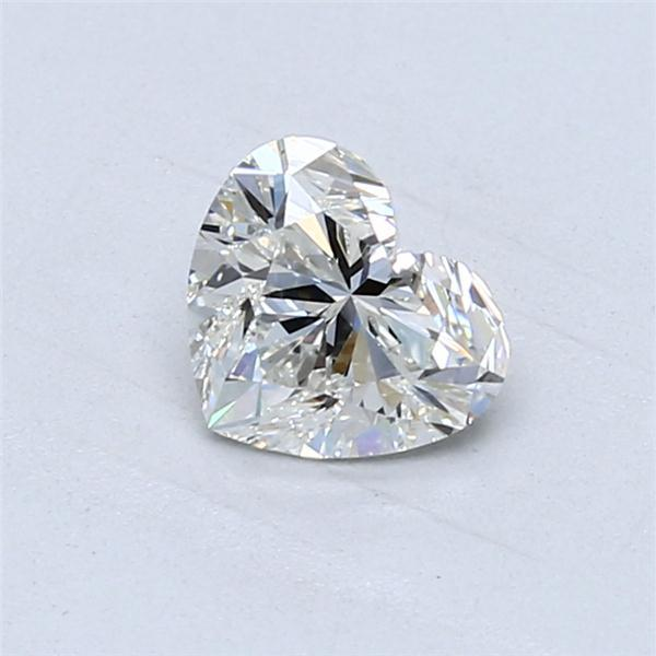 0.90 Carat Heart Loose Diamond, H, VVS1, Super Ideal, GIA Certified