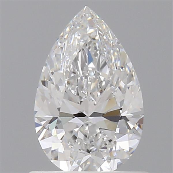 0.71 Carat Pear Loose Diamond, D, VVS1, Super Ideal, GIA Certified