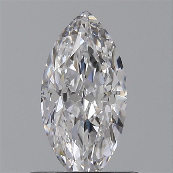 0.54 Carat Marquise Loose Diamond, D, IF, Ideal, GIA Certified