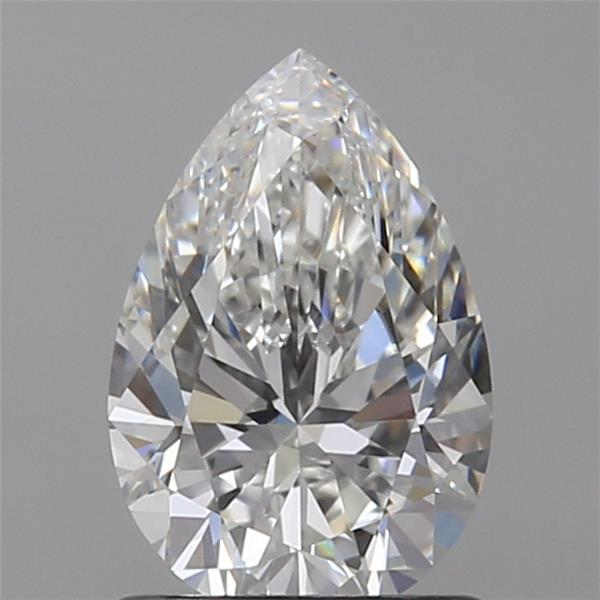 1.01 Carat Pear Loose Diamond, G, IF, Super Ideal, GIA Certified
