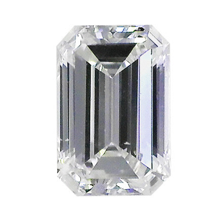 0.42 Carat Emerald Loose Diamond, E, SI2, Very Good, AGS Certified