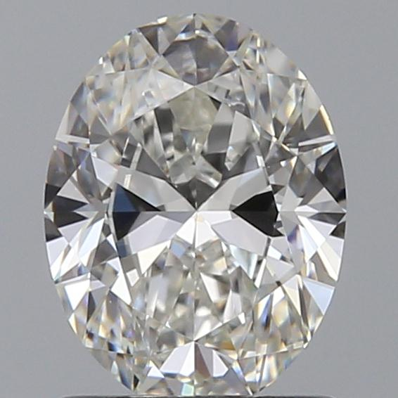 1.01 Carat Oval Loose Diamond, G, IF, Super Ideal, GIA Certified