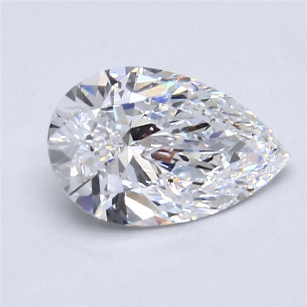 2.06 Carat Pear Loose Diamond, D, IF, Super Ideal, GIA Certified