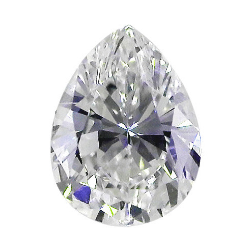 0.56 Carat Pear Loose Diamond, E, SI2, Excellent, GIA Certified