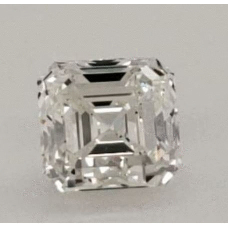 2.00 Carat Asscher Loose Diamond, H, VS1, Ideal, GIA Certified