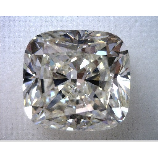 4.67 Carat Cushion Loose Diamond, K, VS2, Excellent, GIA Certified