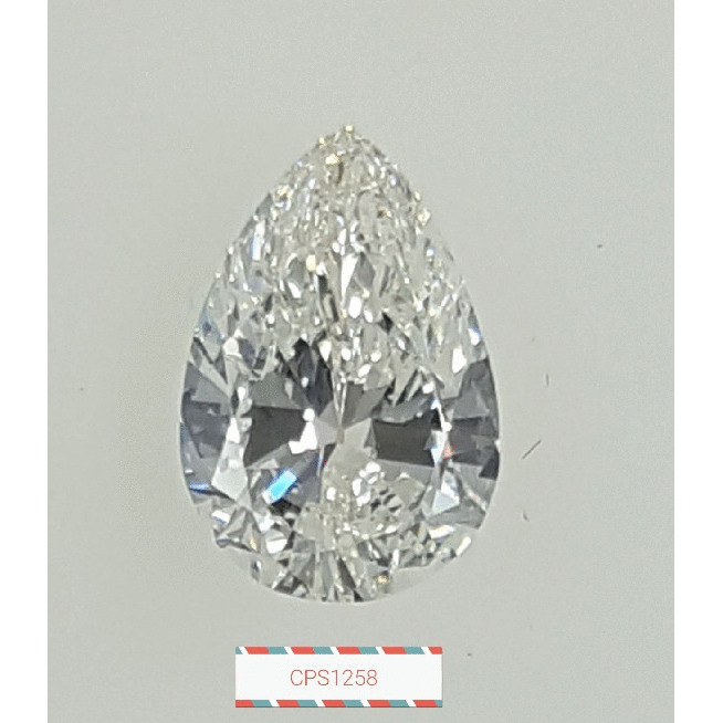 1.53 Carat Pear Loose Diamond, G, SI1, Excellent, GIA Certified