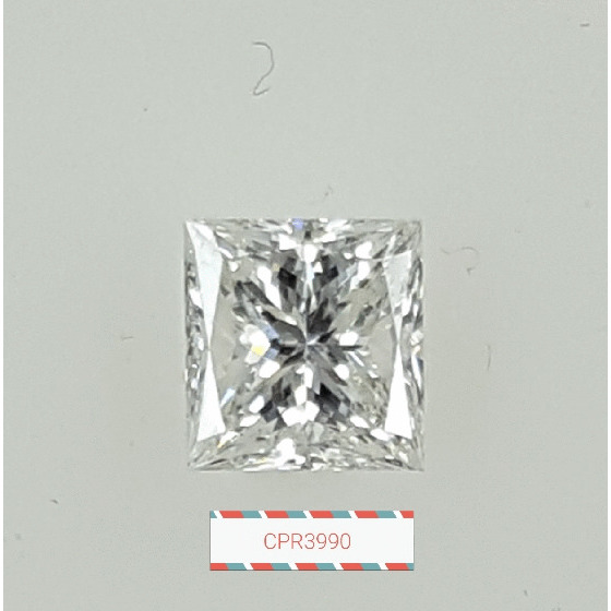 1.03 Carat Princess Loose Diamond, G, SI1, Excellent, GIA Certified | Thumbnail