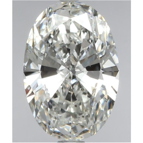 0.71 Carat Oval Loose Diamond, G, SI1, Super Ideal, GIA Certified