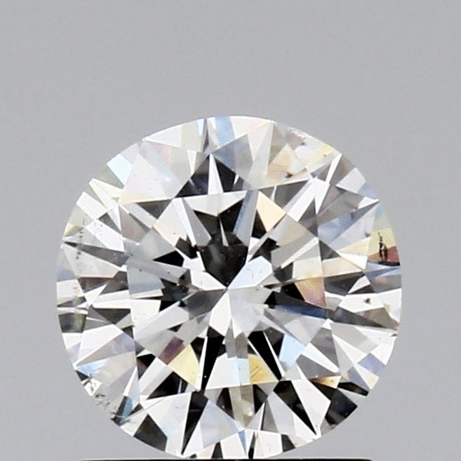 1.01 Carat Round Loose Diamond, F, SI1, Very Good, GIA Certified