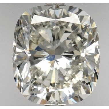2.20 Carat Cushion Loose Diamond, J, SI2, Ideal, GIA Certified