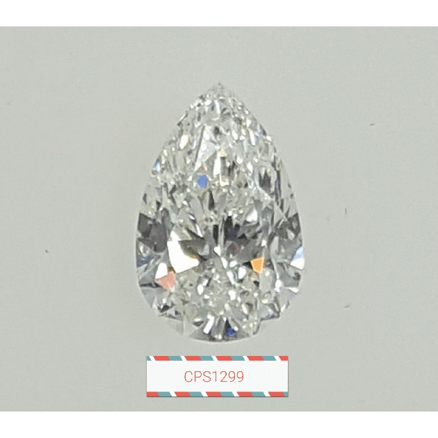 1.00 Carat Pear Loose Diamond, H, SI1, Ideal, GIA Certified