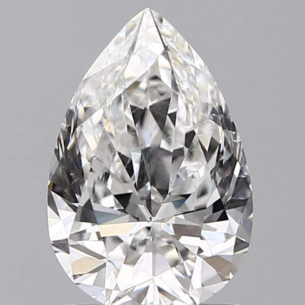 1.20 Carat Pear Loose Diamond, F, SI1, Super Ideal, GIA Certified | Thumbnail