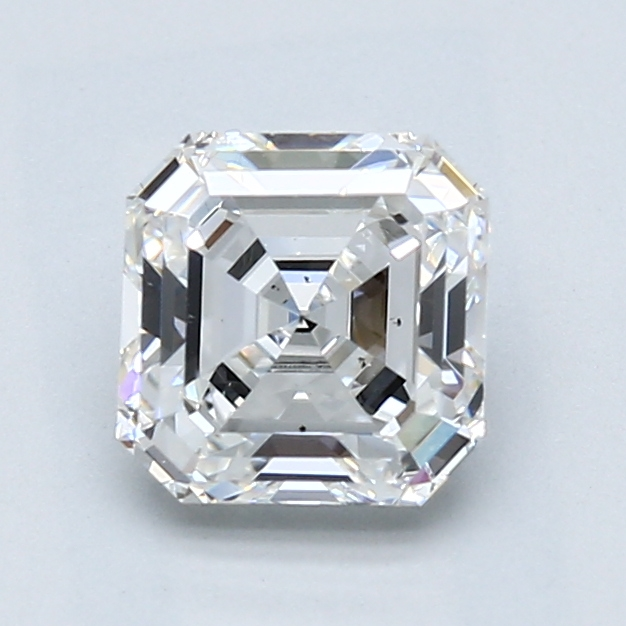 1.51 Carat Asscher Loose Diamond, F, VS2, Excellent, GIA Certified